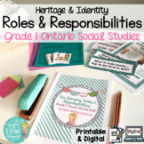 Our Changing Roles and Responsibilities: Grade 1 Ontario S