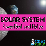 Our Solar System PowerPoint and Differentiated Notes
