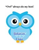 "Owl Behavioral ""Clip"" Chart"