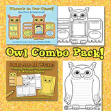 Owl Combo Pack {Foldable Craft, Graphic Organizers + Writi