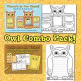 Owl Combo Pack {Foldable Craft, Graphic Organizers + Writi