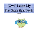"""Owl"" Learn My First Grade Sight Words"