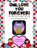 Owl Love You Forever {Owl craftivity and writing templates