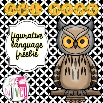 Owl Moon: Figurative Language Freebie