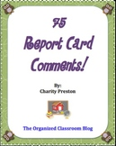 Owl Theme Report Card Comments - 75 in all!