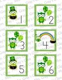 Owl Themed Calendar Cards - March