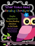 Owl Themed Common Core Reading Literature Graphic Organize