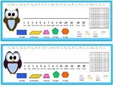 Owl Themed Desk Nameplates Primary/Junior