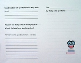 Owl Themed Guided Reading Workbook