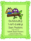 Owlstanding Work Coming Soon Poster