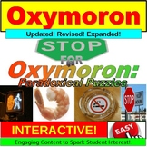 Oxymoron : Lesson and Exercises PowerPoint