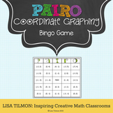 Coordinate Graphing: Plot Ordered Pairs Bingo Game