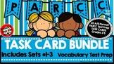 PARCC Test Prep Vocabulary Task Cards A/B Format BUNDLE (Sets1-3)