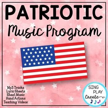 Veteran's Day or PATRIOTIC SONGS, SCRIPT, MP3, SHEET MUSIC