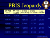 PBIS Jeopardy Character Education Fun!