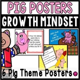 PIG THEME/ CLASSROOM DECOR POSTERS