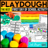 PLAYDOUGH free first day of school activities best recipe