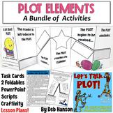 PLOT BUNDLE (includes PowerPoint, craftivities, foldables,