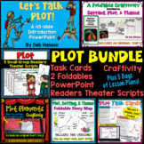 PLOT BUNDLE (includes PowerPoint, craftivities, foldables,