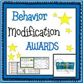 POSITIVE AWARDS FOR  BEHAVIOR MODIFICATION - certificates,
