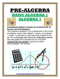PRE-ALGEBRA / INTRODUCTION TO AGEBRA 1