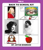 PRE-K BACK TO SCHOOL KIT {SUMMER SALE TILL AUGUST, 95 PP}
