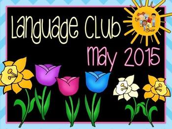 {PRE-ORDER SALE!!!} May 2015 Language Club