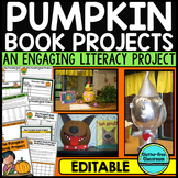PUMPKIN BOOK PROJECTS - A CREATIVE WAY TO FOCUS ON CHARACTERS