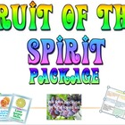 Package: Fruit of the Spirit games and bulletin board
