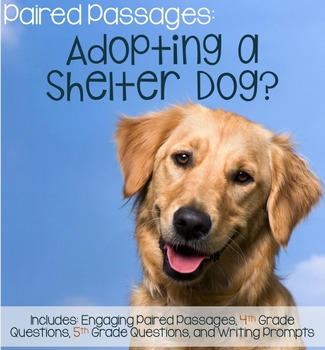 Paired Passages: Adopting a Shelter Dog?