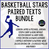Paired Texts:  NBA Legends Bundle