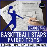 Paired Texts:  NBA Legends LeBron James & Michael Jordan:
