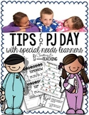 Pajama Day Tips & Tricks for Special Needs Learners