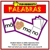 Palabras Flip Booklets in Spanish