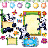 Panda Pals - Classroom Bulletin Board Set