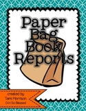 Paper Bag Book Reports {two in one!}