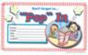 """Parent Involvement """"Pop In"""" Event Package English & Spanish"""