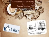 Parent Letter Template Facebook Style