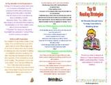 Parent Resource- Top 10 Reading Strategies All Parents Sho