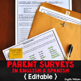 Parent Surveys in Spanish