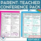 Parent Teacher Conference MEGA Pack!