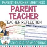 Parent Teacher Interview Sheets