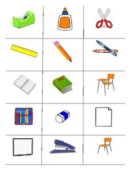 School Objects In Spanish - Lessons - Tes Teach
