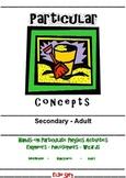 Particular Concepts Secondary Workbook (STEM Modules)