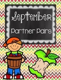 Partner Pairs - September