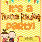 Partner Reading Comprehension Activity Pack  {Partner Read