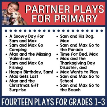 Partner Script for Young Readers Bundle