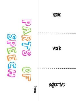 Parts of Speech Fold