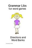 Parts of Speech Grammar Practice: Grammar Libs Mini-Books