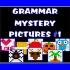 Parts of Speech Mystery Pictures Bundle Pack
